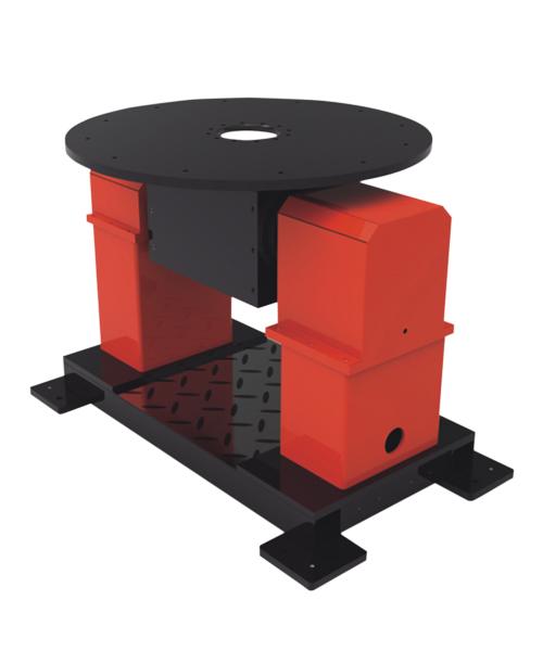 工业机器人配套设备-双轴双支撑变位机